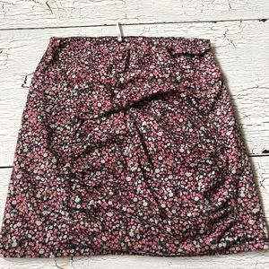 Free People Floral Bandage Skirt